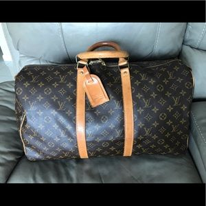 🇫🇷Louis Vuitton Keepall 50🇫🇷🎊🌸🇫🇷🌸🇫🇷🌸🌸